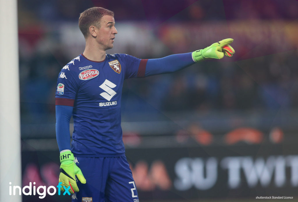 Joe Hart, Manchester City's goalkeeper who was previously on loan to Italy's Torino, was at that time, the only top level English player on the continent.